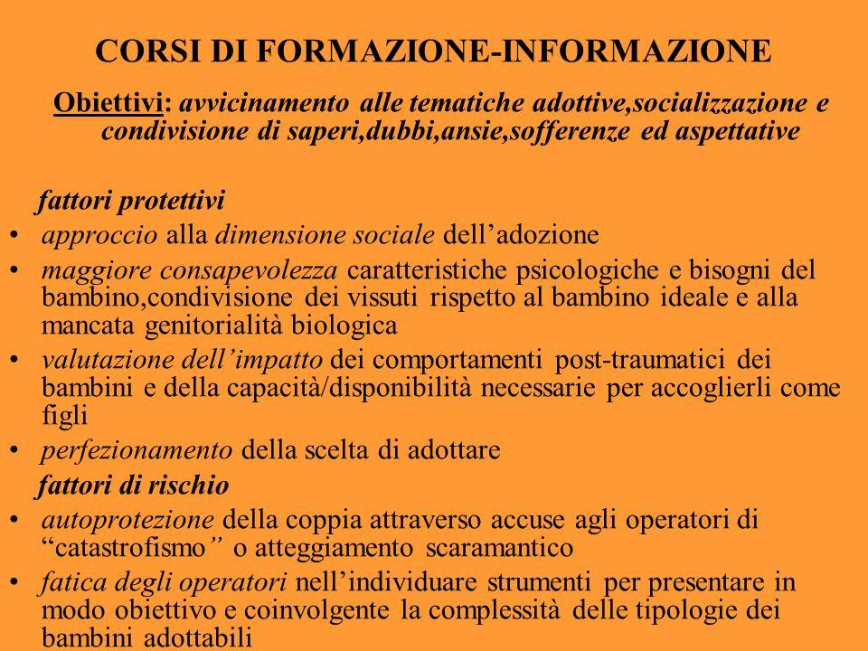 CORSI DI FORMAZIONE-INFORMAZIONE