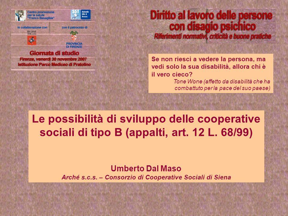 Arché s.c.s. – Consorzio di Cooperative Sociali di Siena