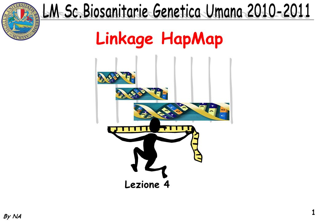 Linkage HapMap Lezione 4 By NA
