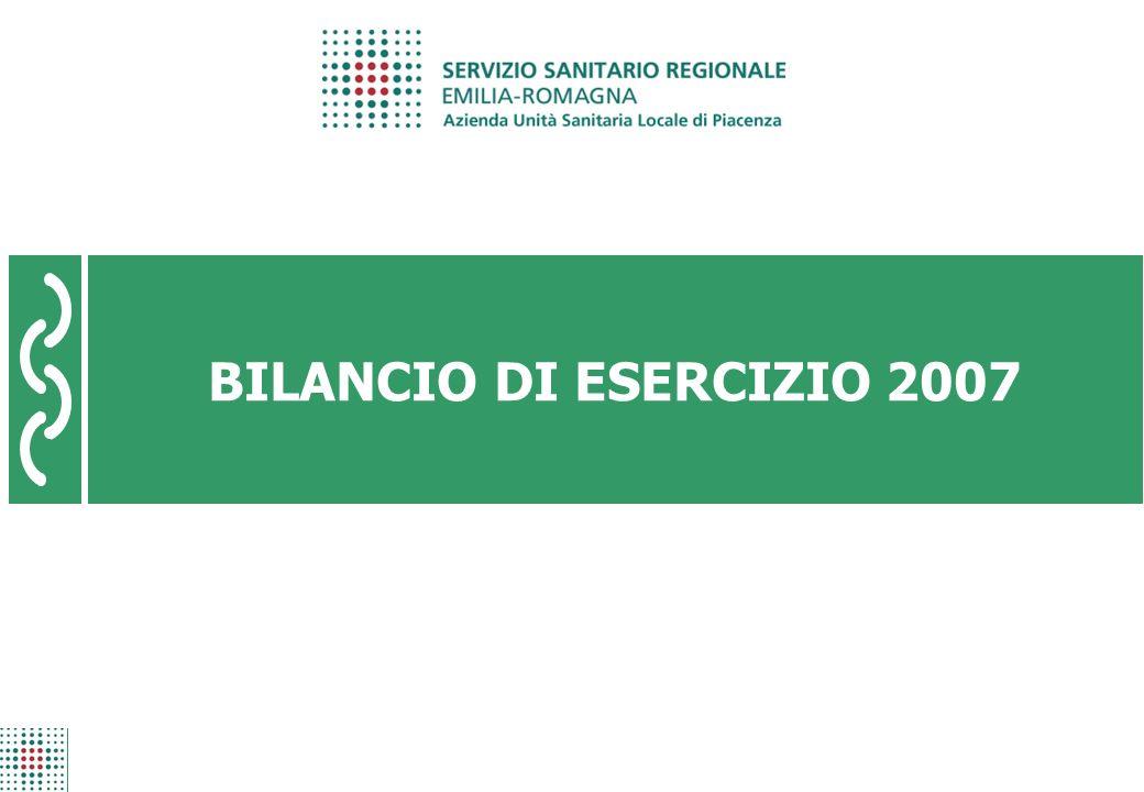 BILANCIO DI ESERCIZIO 2007