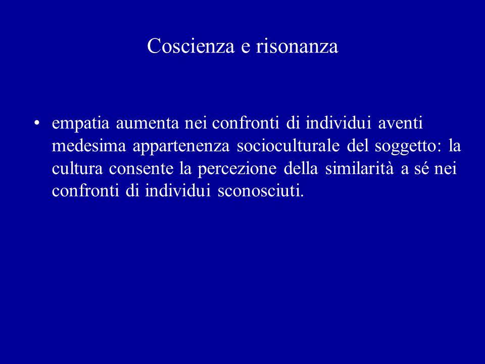 Coscienza e risonanza
