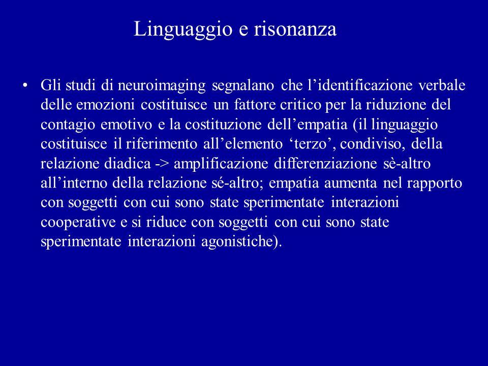 Linguaggio e risonanza