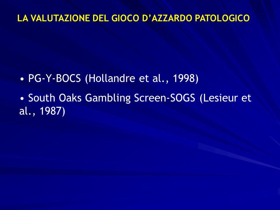 PG-Y-BOCS (Hollandre et al., 1998)