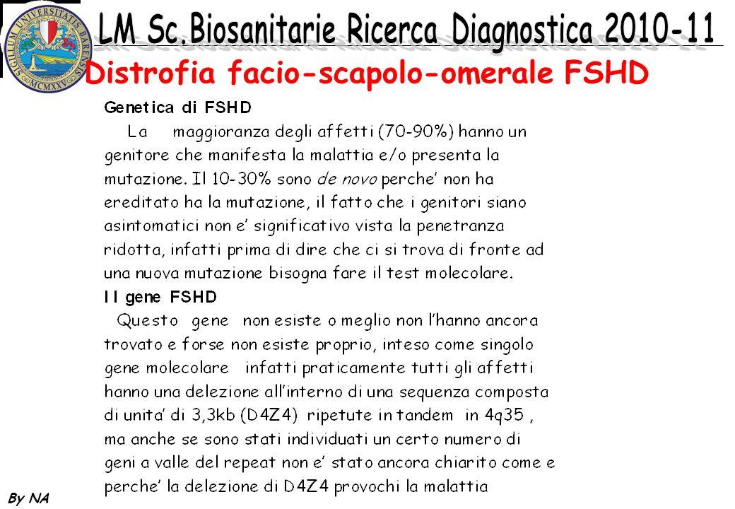 Distrofia facio-scapolo-omerale FSHD