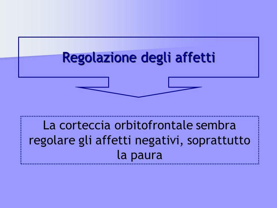 Regolazione degli affetti