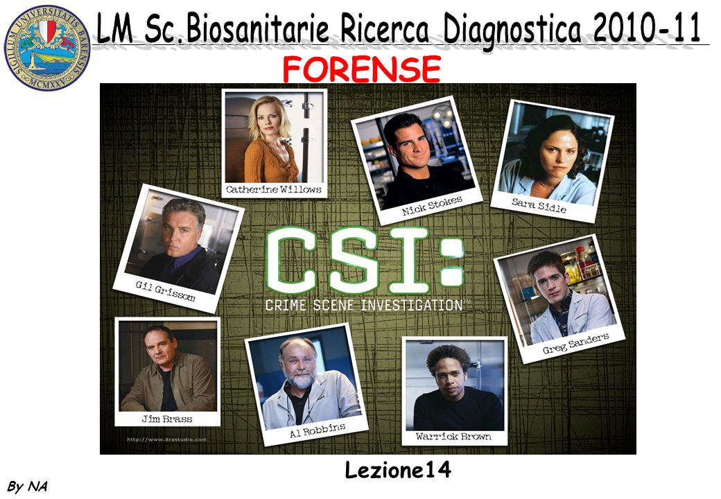 FORENSE Lezione14 By NA