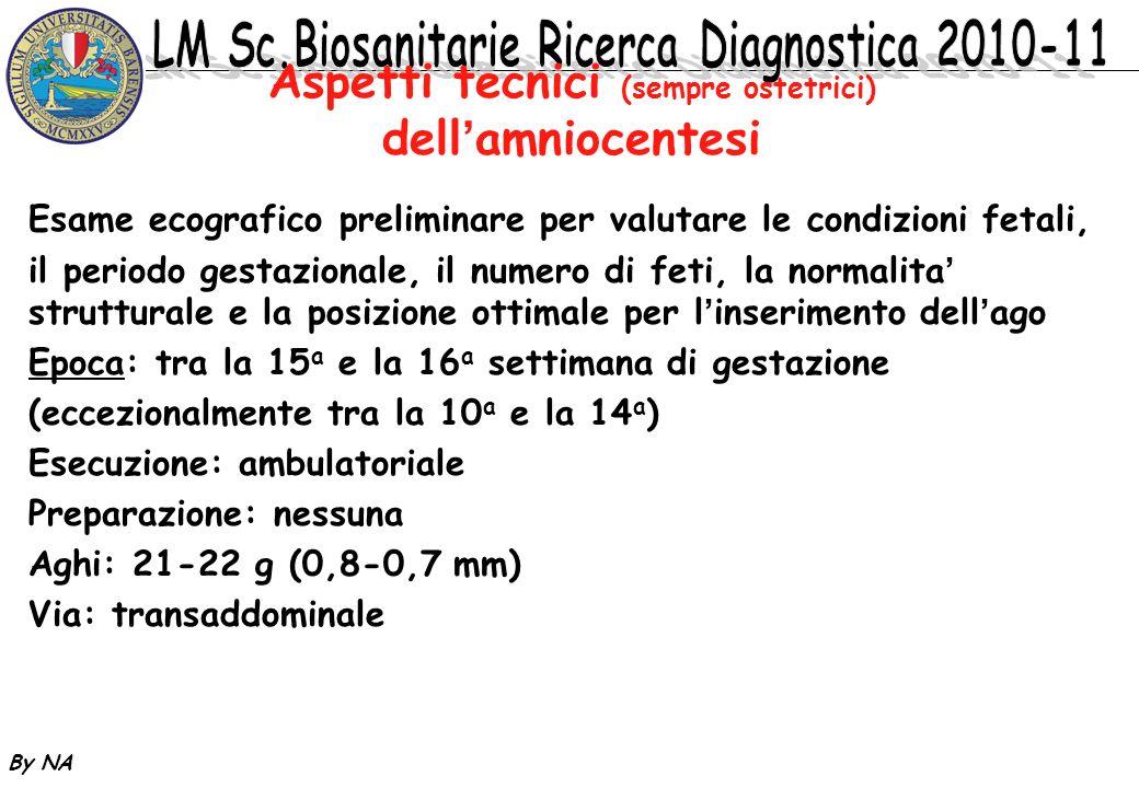 Aspetti tecnici (sempre ostetrici) dell'amniocentesi