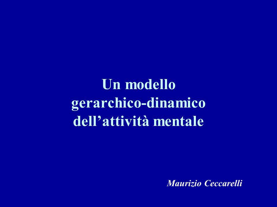 Un modello gerarchico-dinamico dell'attività mentale