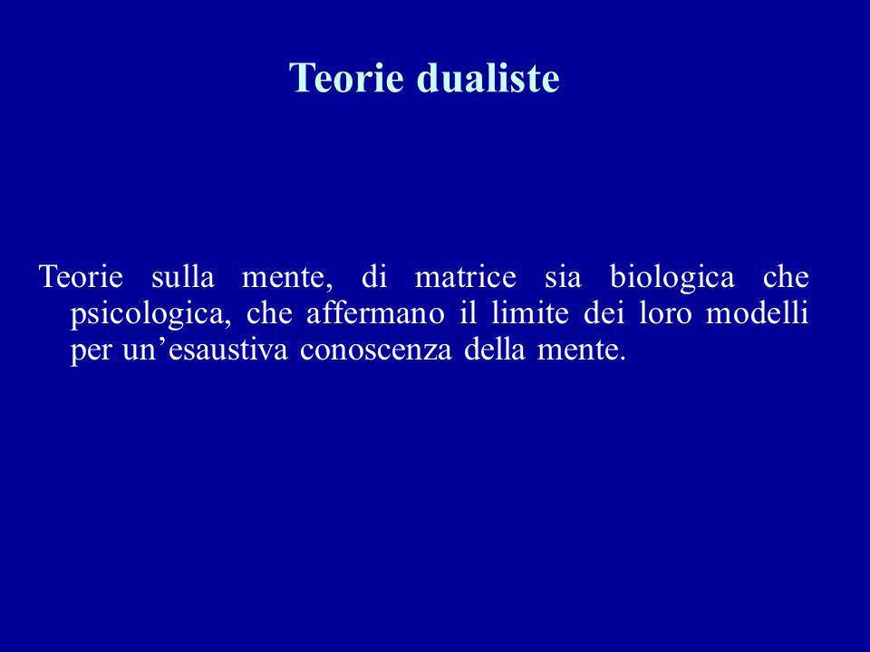 Teorie dualiste