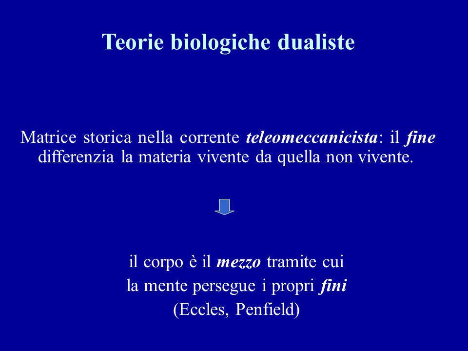 Teorie biologiche dualiste