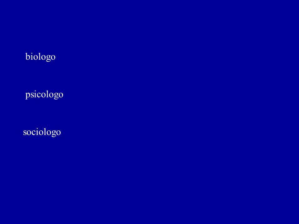 biologo psicologo sociologo