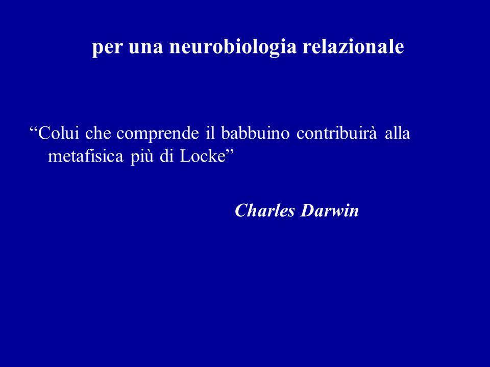 per una neurobiologia relazionale