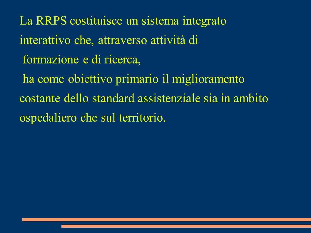 La RRPS costituisce un sistema integrato