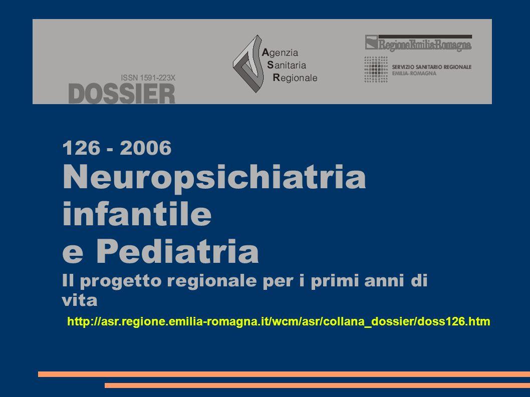 Neuropsichiatria infantile e Pediatria 126 - 2006