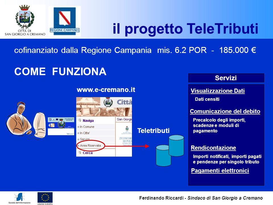 il progetto TeleTributi