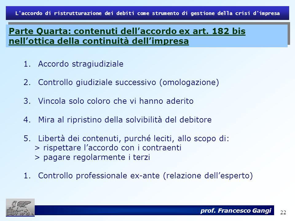 L'accordo di ristrutturazione dei debiti come strumento di gestione della crisi d'impresa