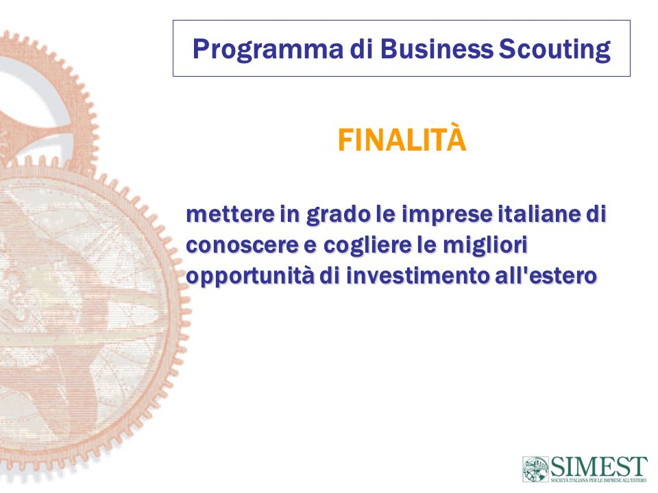 Programma di Business Scouting