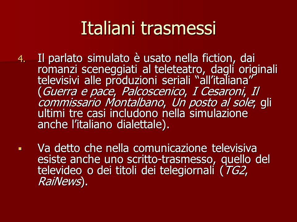 Italiani trasmessi