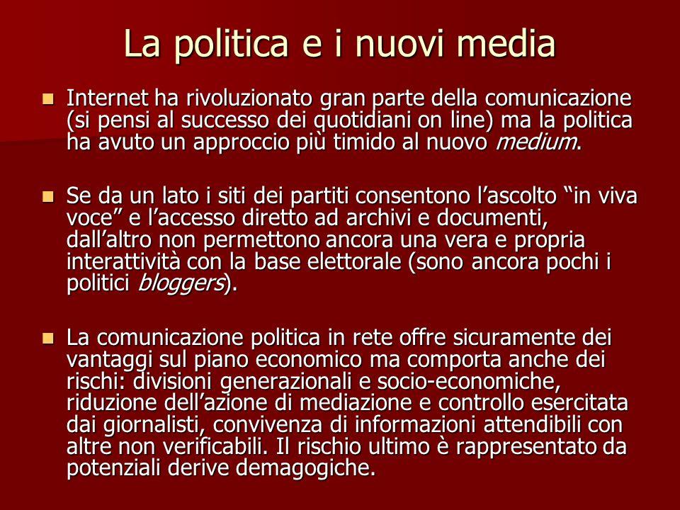 La politica e i nuovi media