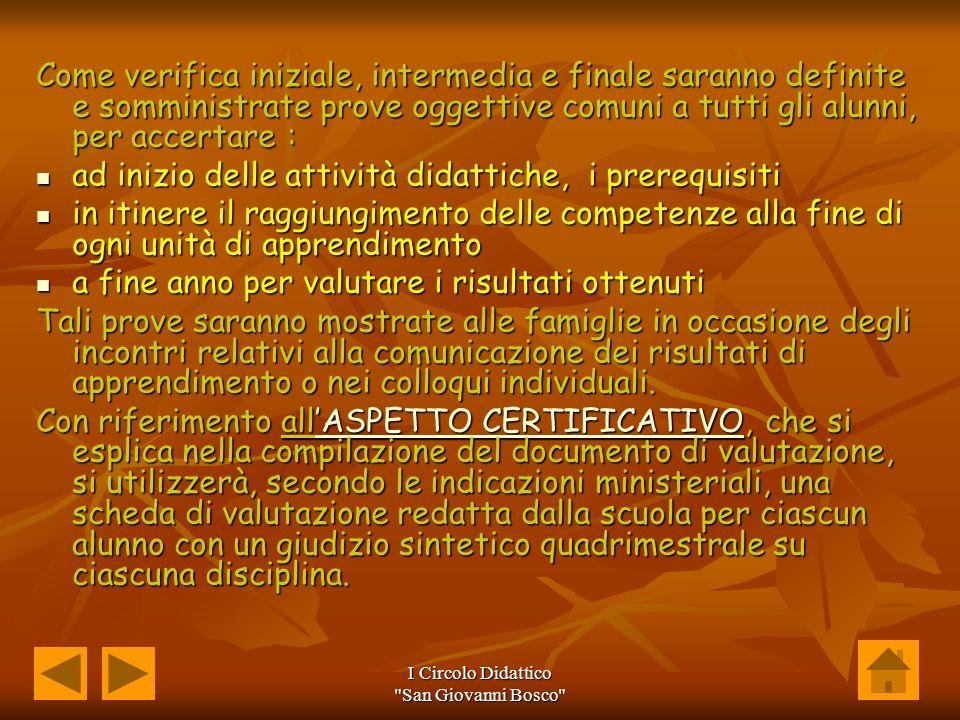 I Circolo Didattico San Giovanni Bosco
