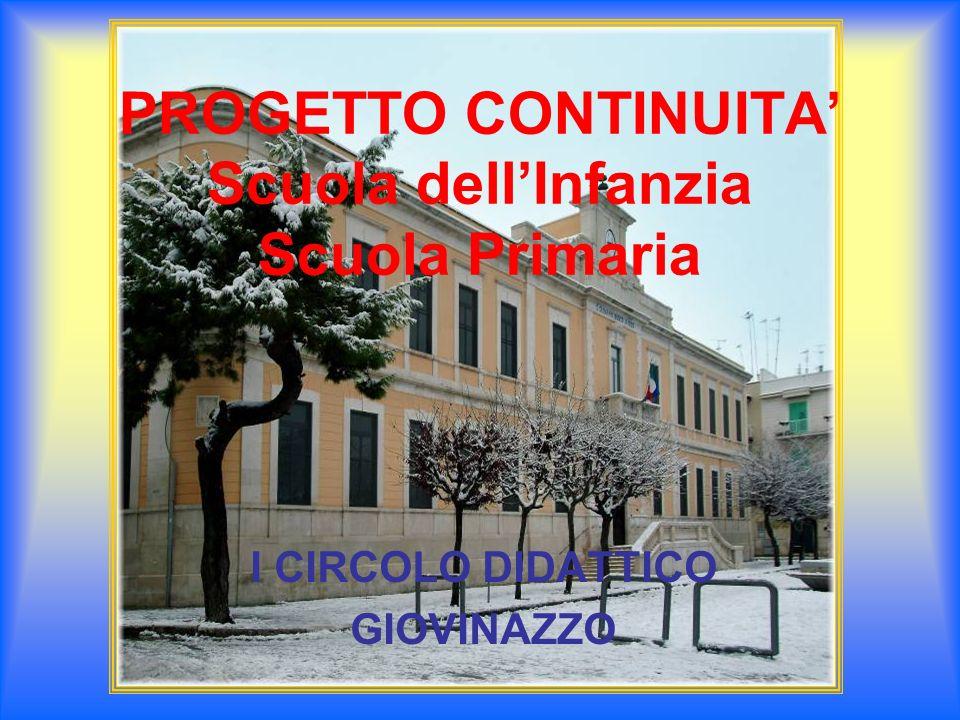 PROGETTO CONTINUITA' Scuola dell'Infanzia Scuola Primaria