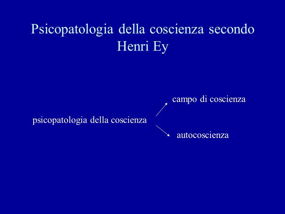 Psicopatologia della coscienza secondo Henri Ey