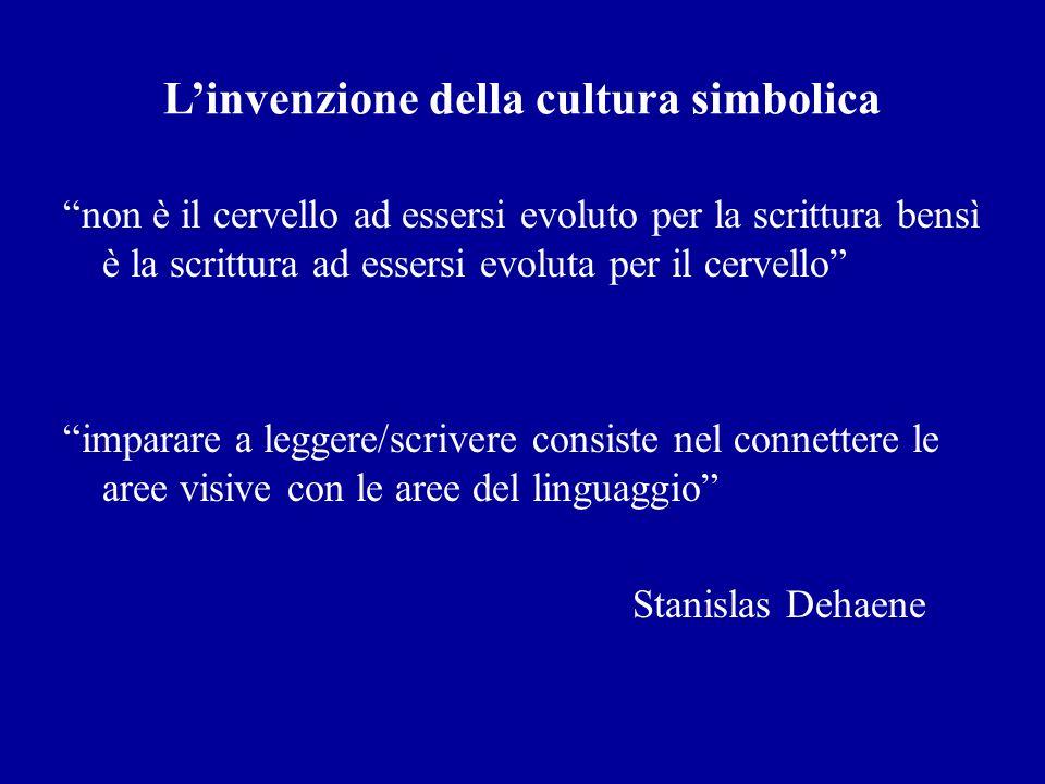 L'invenzione della cultura simbolica
