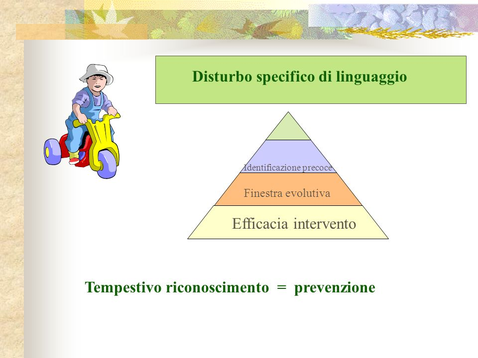 Disturbo specifico di linguaggio