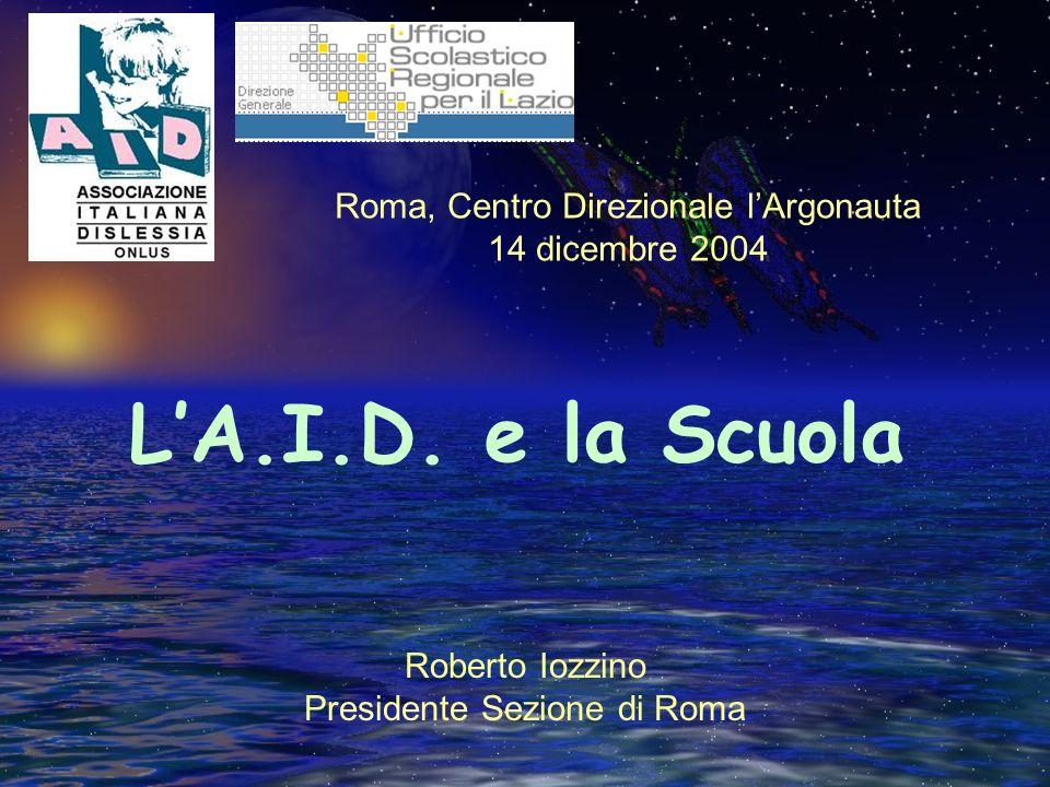 Roberto Iozzino Presidente Sezione di Roma