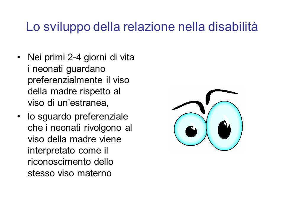 Lo sviluppo della relazione nella disabilità
