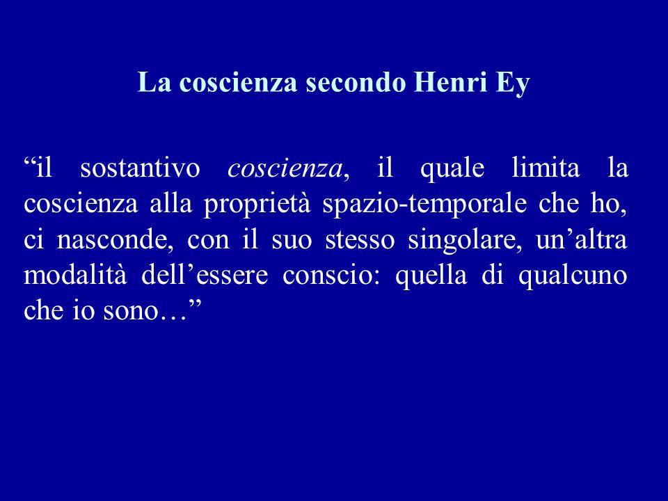 La coscienza secondo Henri Ey