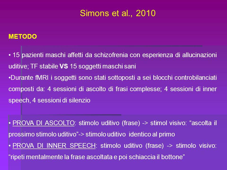 Simons et al., 2010 METODO.