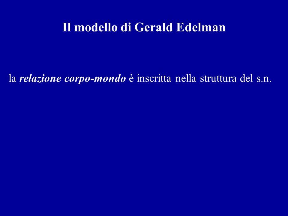 Il modello di Gerald Edelman