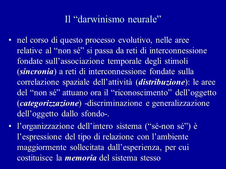Il darwinismo neurale