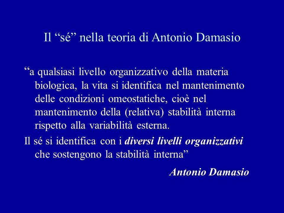 Il sé nella teoria di Antonio Damasio