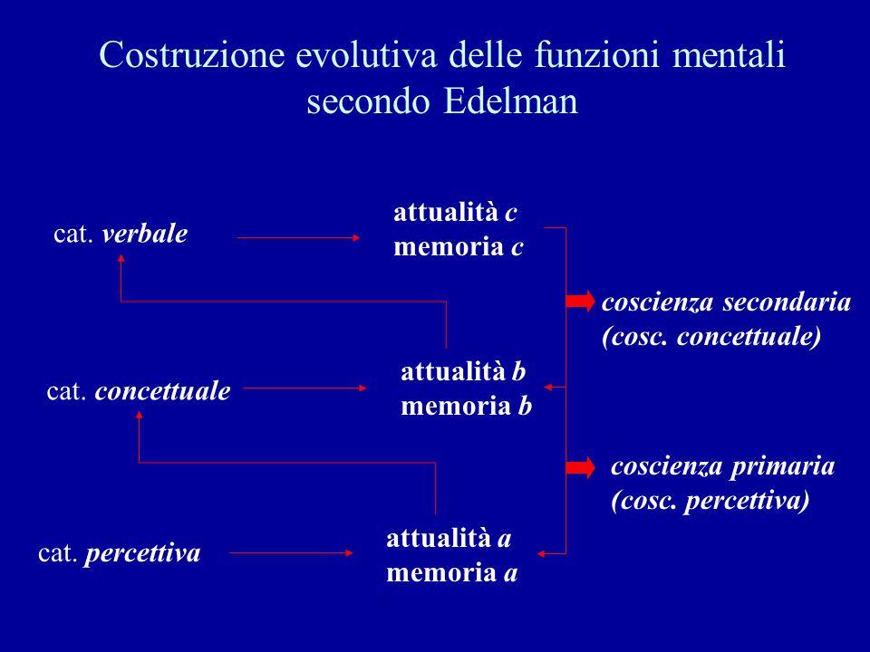 Costruzione evolutiva delle funzioni mentali secondo Edelman