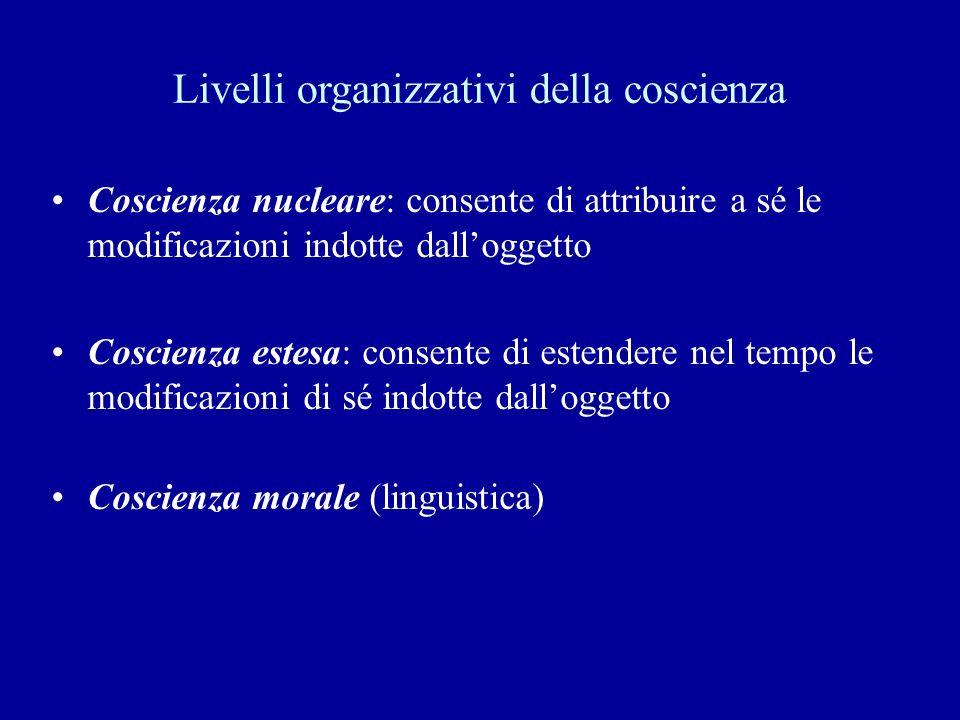 Livelli organizzativi della coscienza