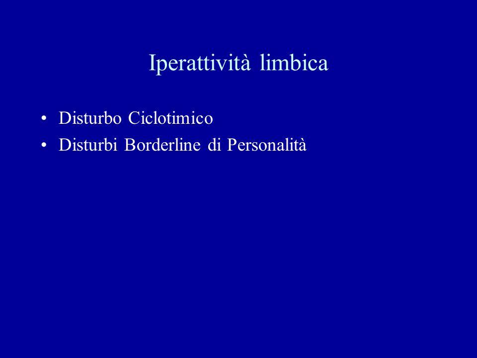 Iperattività limbica Disturbo Ciclotimico