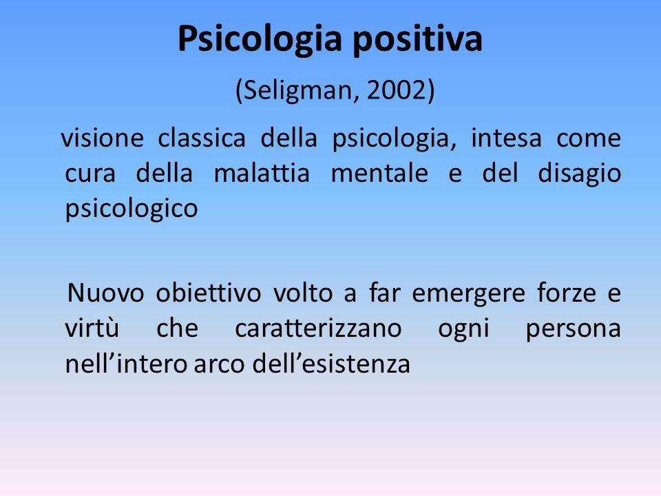 Psicologia positiva (Seligman, 2002)