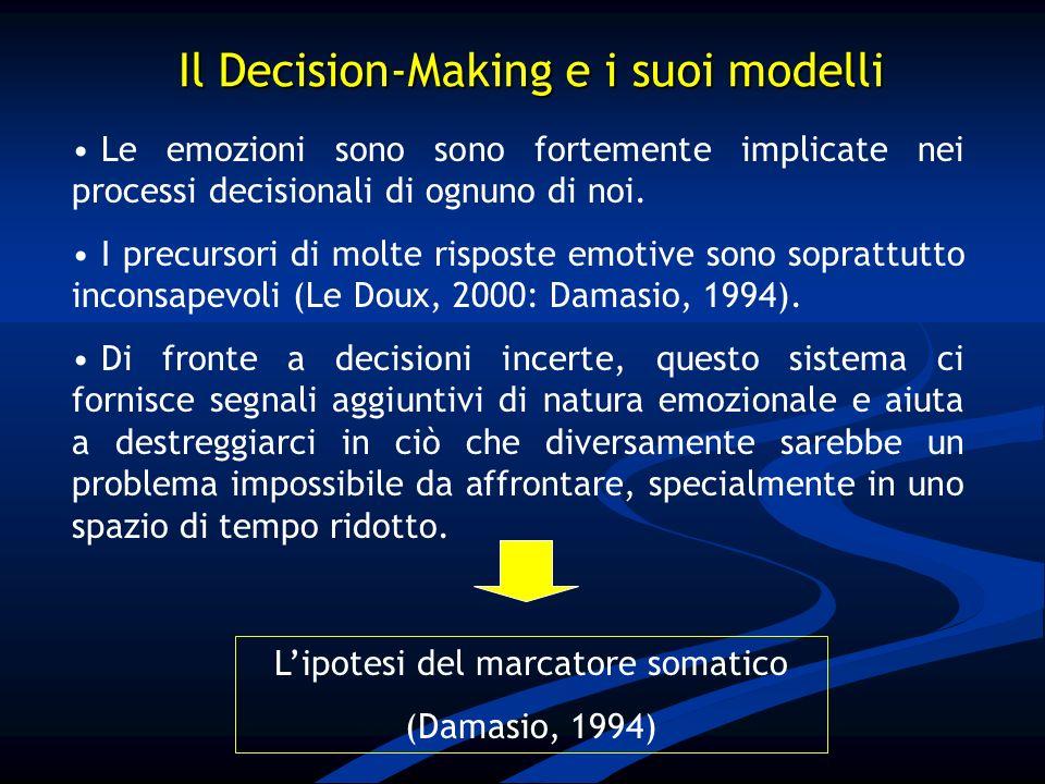 Il Decision-Making e i suoi modelli