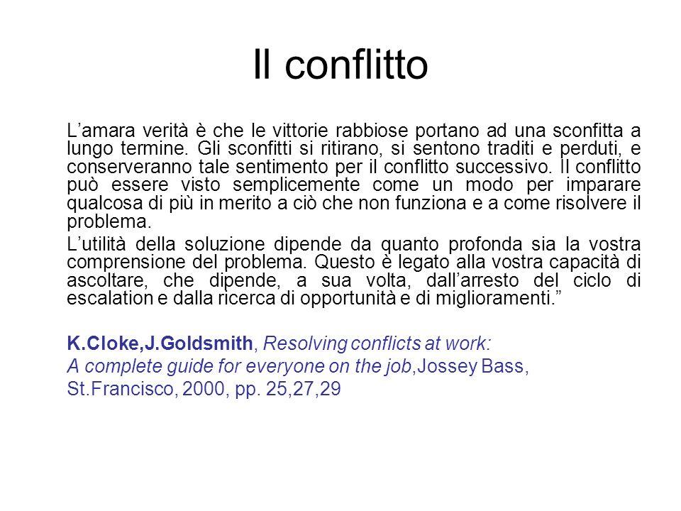 Il conflitto