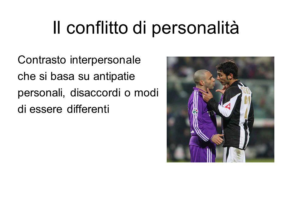 Il conflitto di personalità