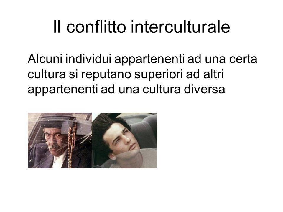 Il conflitto interculturale
