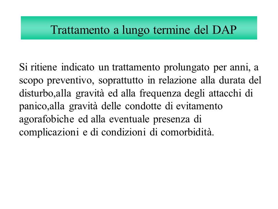 Trattamento a lungo termine del DAP
