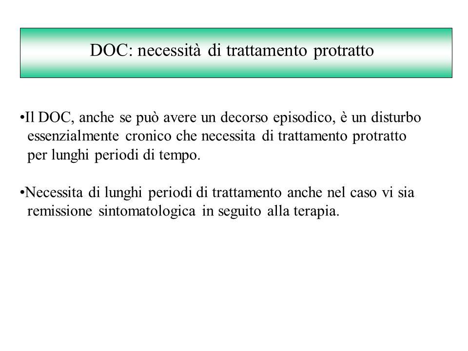 DOC: necessità di trattamento protratto
