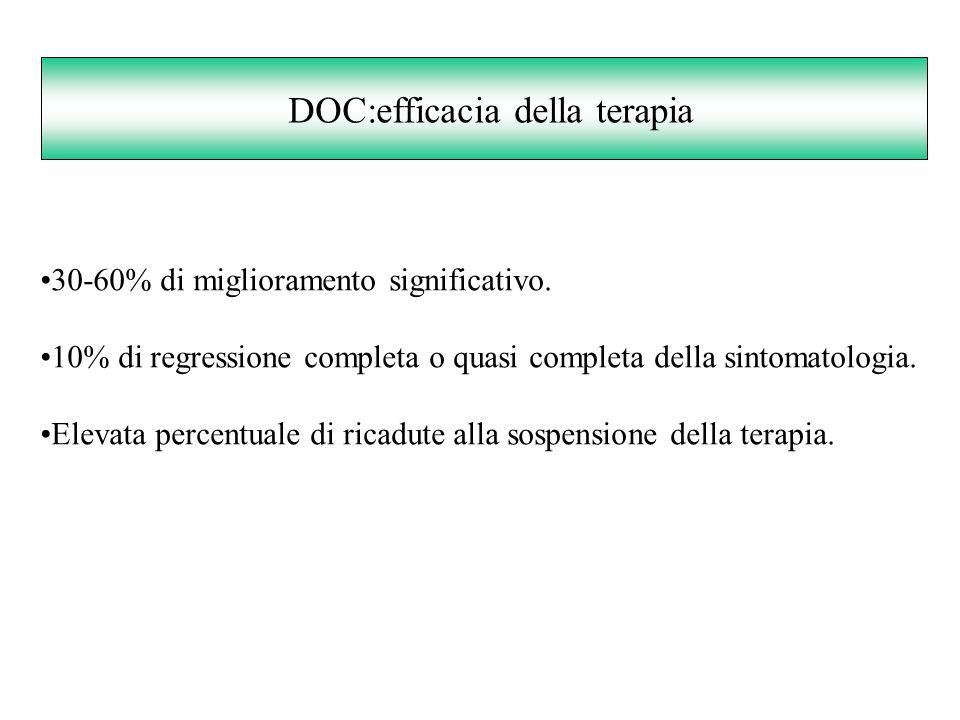 DOC:efficacia della terapia