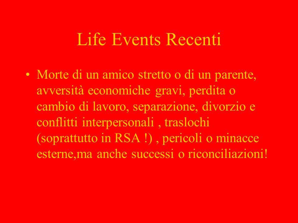 Life Events Recenti