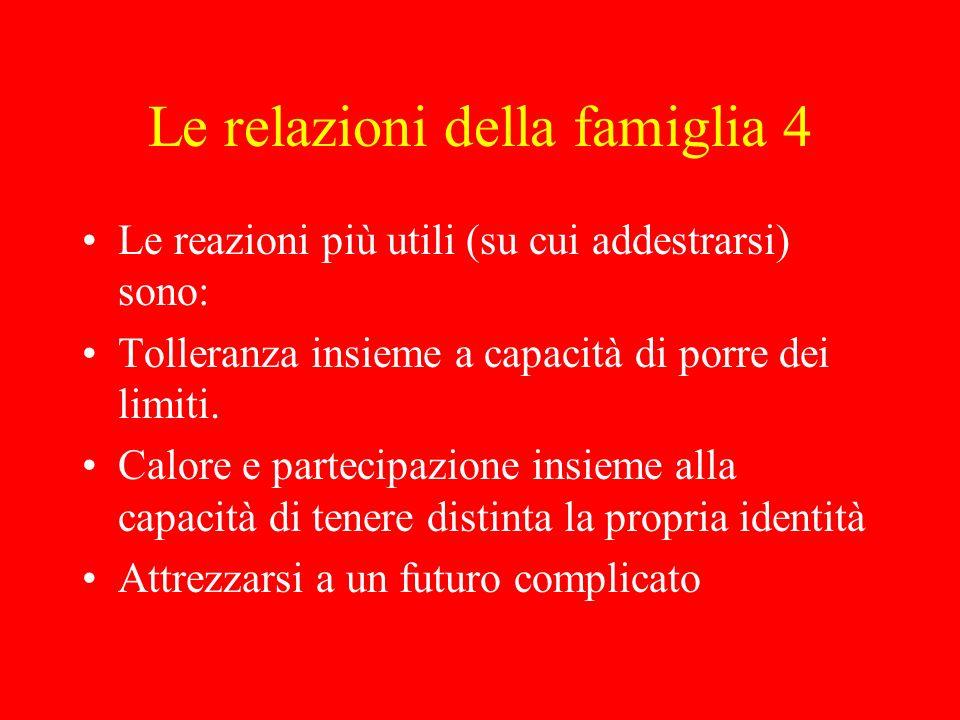 Le relazioni della famiglia 4