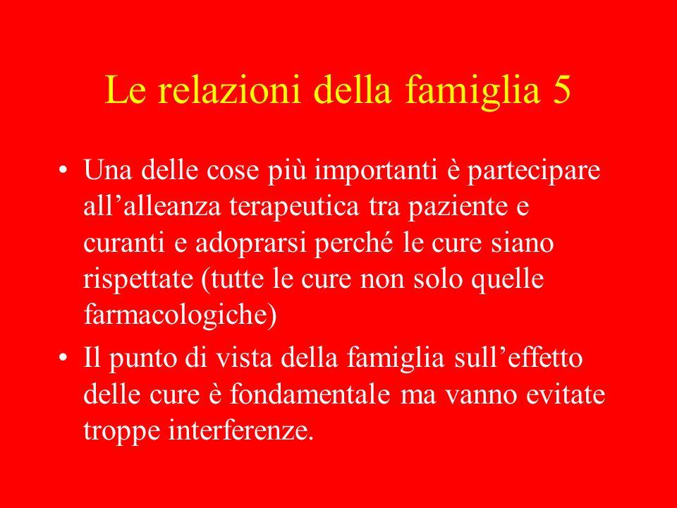 Le relazioni della famiglia 5