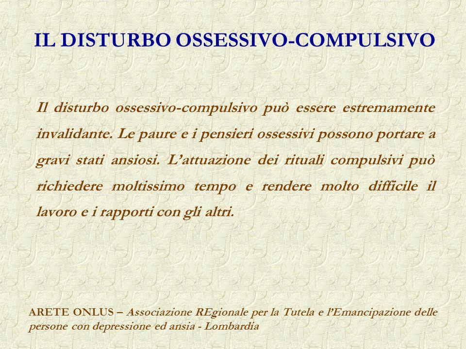IL DISTURBO OSSESSIVO-COMPULSIVO